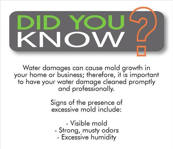 did you know list about mold